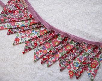 Liberty Fabric Bunting - 3m Long