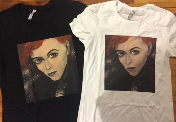 THE MAN WHO FELL TO EARTH T-SHIRT DAVID BOWIE