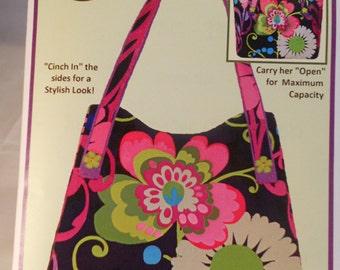 "Sewphisti-Cat Designs Sewing Pattern...""Cami's Tote"" Purse Pattern #SC-14"