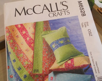 McCall's Crafts PATTERN (M6528) Quilt, Pillowcase and Sham Pattern from Nancy Zieman