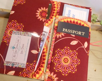 """The """"On the Go"""" Passport Travel Wallet"""