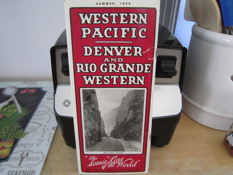 Calendario 1926.Western Pacific Denver Rio Grande Western Calendario 1926