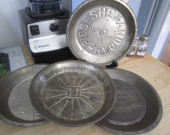 Collectable Pie Tins Your Choice Shenandoah, Best, Mrs Robinson's, and LJ Harris