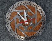 Recycled Shimano Mountain Bike Disc Brake Rotor Wall Clock
