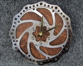 Recycled Mountain Bike Disc Brake Rotor Wall Clock