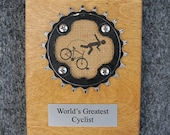 World's Greatest Cyclist Plaque