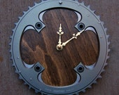 Recycled Truvativ Mountain Bike Chainring Wall Clock