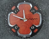 Recycled Shimano Mountain Bike Chainring Wall Clock