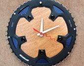 Recycled FSA Road Bike Chainring Wall Clock