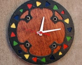 Recycled MRP Mountain Bike Bash Guard Wall Clock