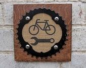Bicycle Mechanic Plaque