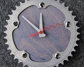 Recycled Road Bike Chainring Wall Clock