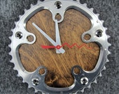 Recycled Shimano Road Bike Chainring Wall Clock