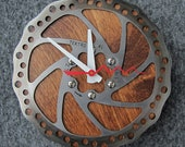 Recycled Tektro Mountain Bike Disc Brake Rotor Wall Clock
