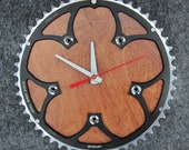 Recycled FSA Road Bike Chainring Wall Clock