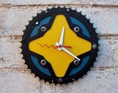 Recycled Bontrager Mountain Bike Chainring Wall Clock