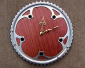 Recycled Campagnolo Road Bike Chainring Wall Clock