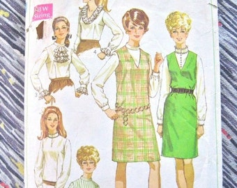 SALE 20% OFF Vintage 60's Simplicity 7765 sewing pattern  Bust 34""