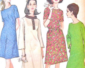 SALE 20% OFF Uncut 60s McCall's 8999 Dress Pattern  Bust 41 inches
