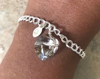 Swarovski Crystal Hearts