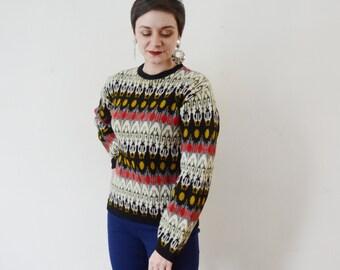 70s Jersild Wool Sweater - L