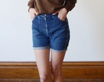 60s Womens Denim Shorts - XS