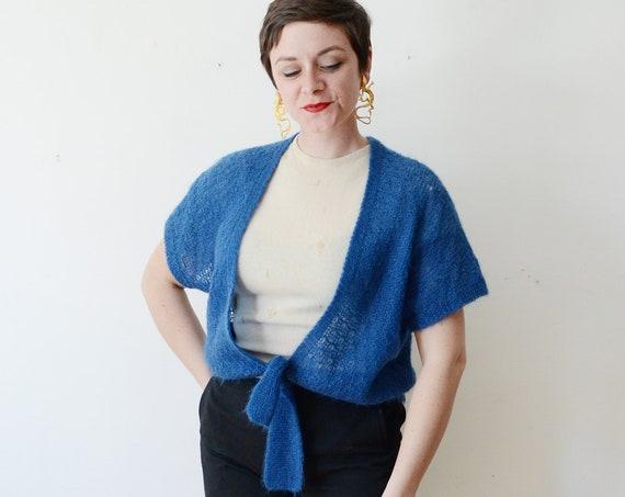 1980s Blue Sweater - L