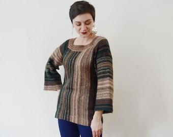 1970s Green Sweater - M