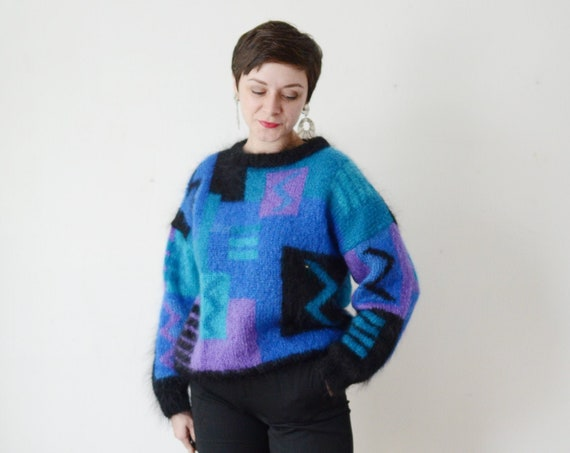 1980s Mohair Sweater