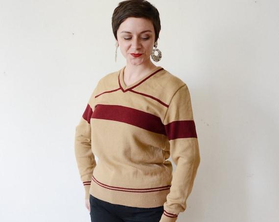 1980s Athletic Sweater - M/L