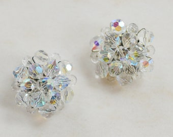 1950s Cluster Earrings