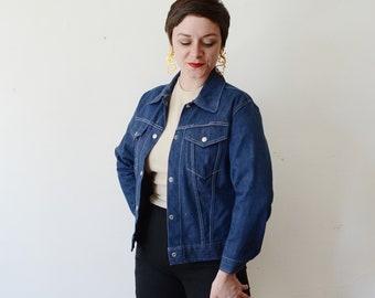 1970s Blue Jean Jacket - S/M