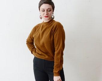 1970s Brown Sweatshirt - S/M
