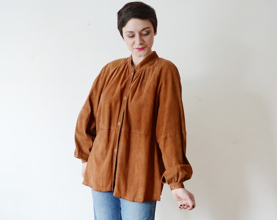 1970s Beged - Or Leather Top - M