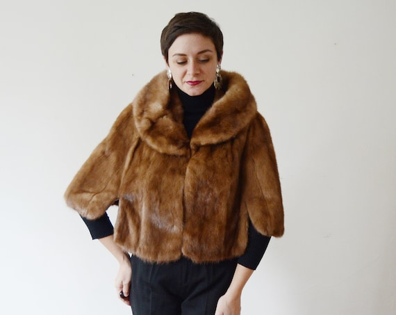 Late 50s/1960s Hudsons Mink Fur Stole
