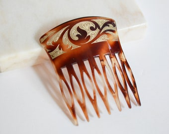 30s/40s French Celluloid Comb
