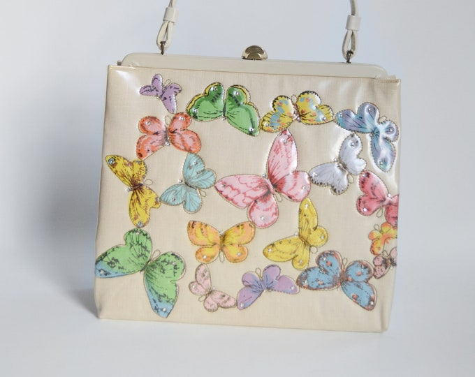 1960s Soure Butterfly Purse