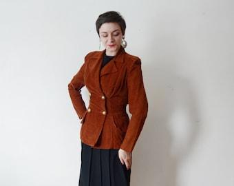 1940s Corduroy Blazer - M