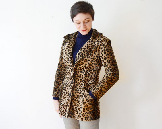 Frederick's of Hollywood Leopard Blazer - S/M