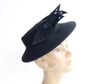 1940s New York Creation Tilt Hat