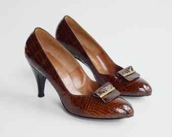 1950s Leather Pumps US7.5B
