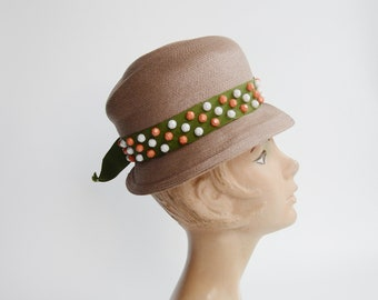 1960s Brown Hat