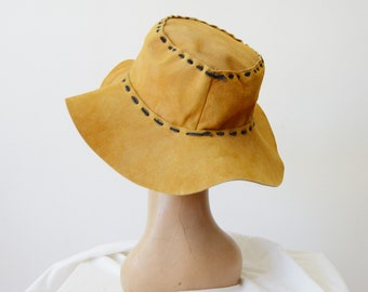 Mexican Floppy Leather Hat