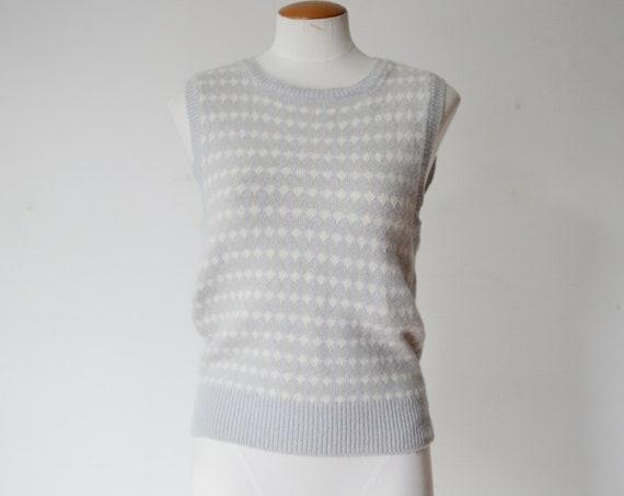 1980s Jones New York Sweater Vest - S