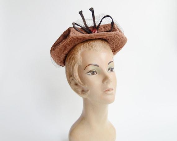 1940s New York Creation Straw Hat
