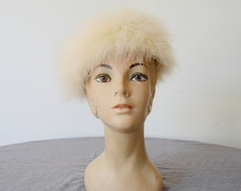 1960s Ostrich Feather Hat