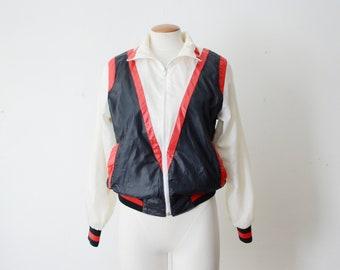 As Is 80s Windbreaker Jacket - S/M