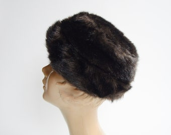 1970s Faux Fur Hat