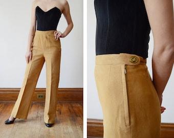 Bonnie Cashin Sills 1970s Leather Pants - XS
