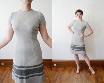 1960s Silver Mini Dress - XS/S